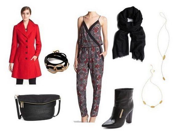 连体裤搭配 给秋冬增添点时髦感